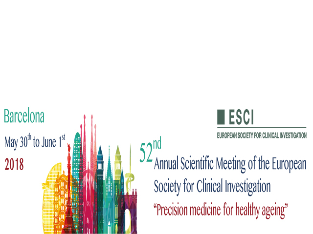 52è Annual Scientific Meeting of the European Society for Clinical Investigation